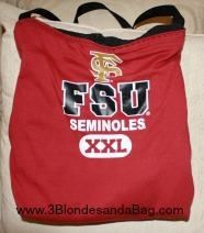 Another 3 Blondes FSU totebag