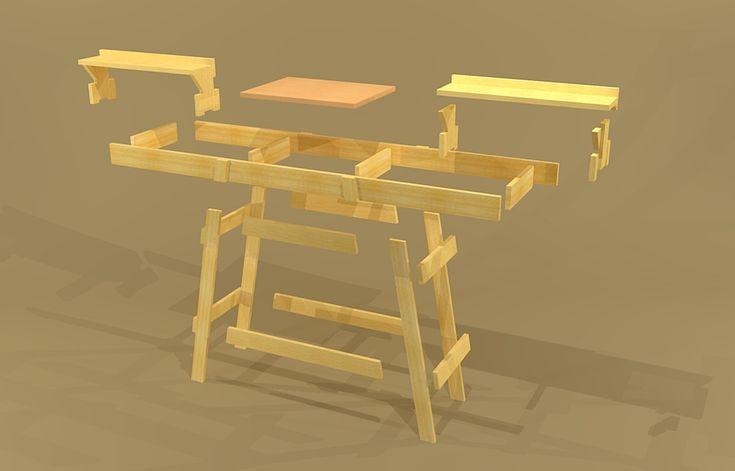 portable miter saw stand plans - Google Search