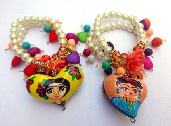 joyeria inspirada en frida kahlo - Buscar con Google