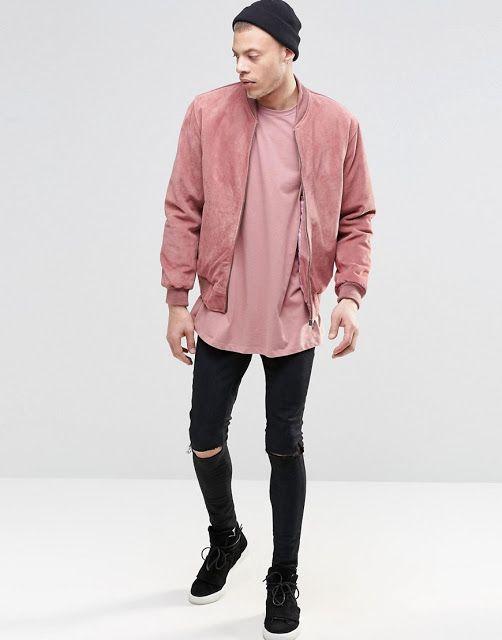 Macho Moda - Blog de Moda Masculina: Peças em Tons de Rosa no Visual Masculino…