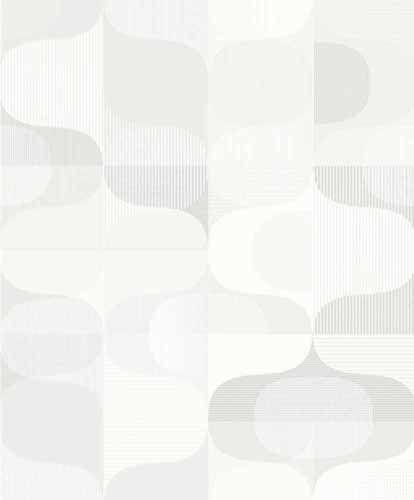 Fräck tapet med geometriskt mönster från kollektionen Kvadrat 17010. Klicka för att se fler inspirerande tapeter för ditt hem!
