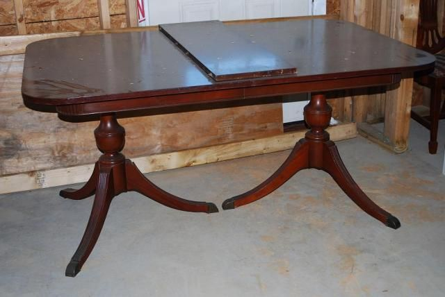 Antique chairs value general antiques dining for Duncan 5 dining room table