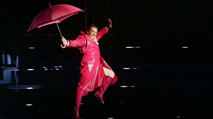 Patetic. It's Raining Men with Christian Spridon.