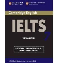 Cambridge IELTS 7 Student' s Book with Answers Level 7 Examination Papers from University of Cambridge ESOL Examinations (Cambridge Books for Cambridge Exams) By (author) Cambridge ESOL -Free worldwide shipping of 6 million discounted books by Singapore Online Bookstore http://sgbookstore.dyndns.org