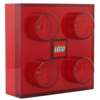 LEGO LED Nachtlamp 2x2 Steen ROOD   LEGOshop online - BRICKshop Holland (Gorinchem)