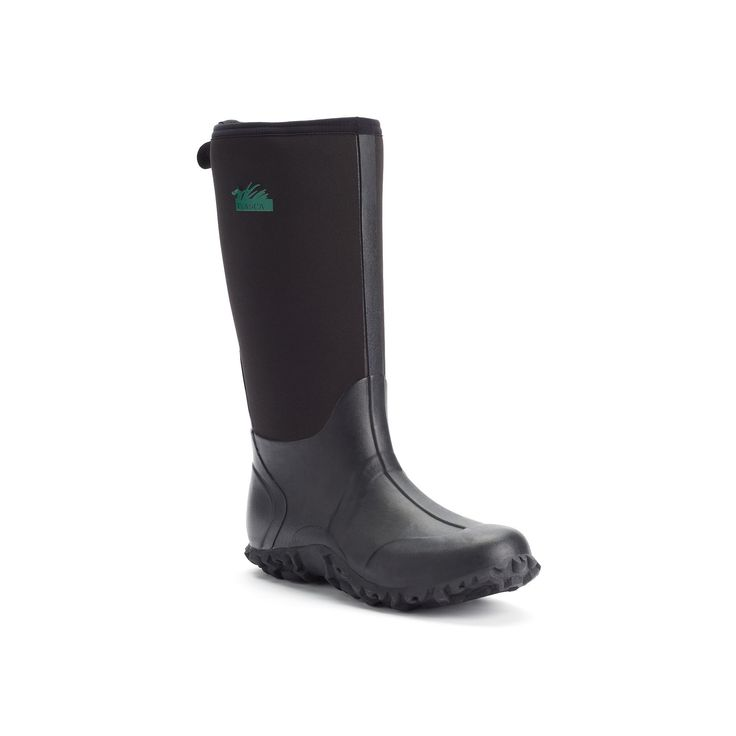 Itasca Bayou Men's Waterproof Boots, Size: 14, Black