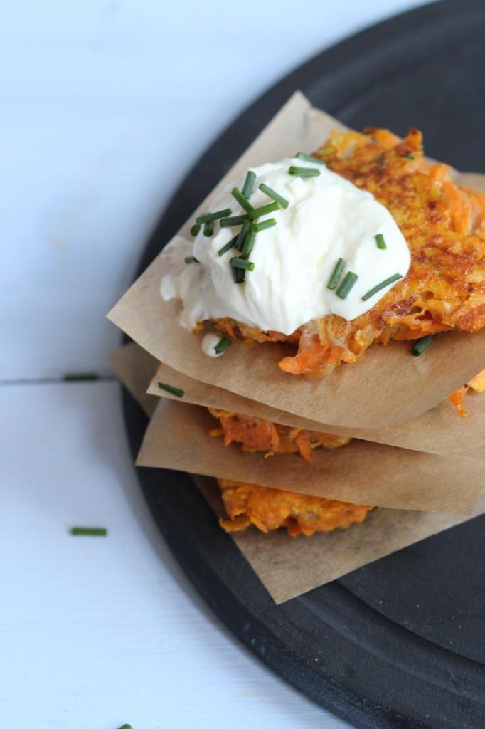 Zoete aardappelburgers - Lekker en Simpel