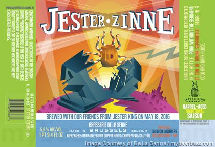 mybeerbuzz.com - Bringing Good Beers & Good People Together...: De La Senne & Jester King Collaborate On Jester Zi...