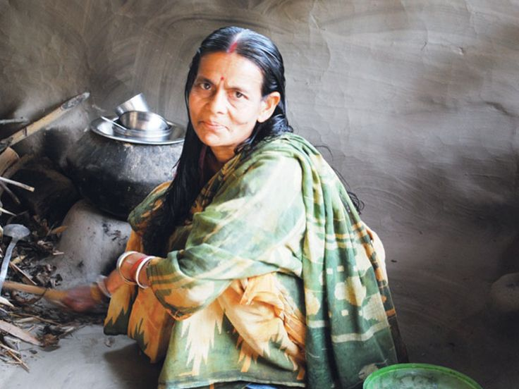 "Shefali's incredible story of courage:  ""My husband was furious. He forced me to move into a separate room with my children. For days on end he refused to give me any food. No one in my village would speak to me. But I stayed."""