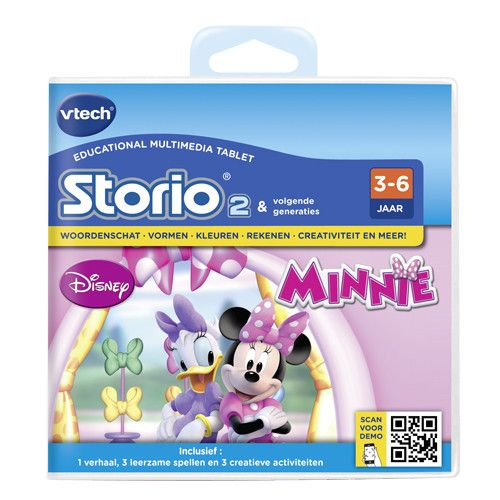 Storio 2 Game Vtech Minnie Mouse