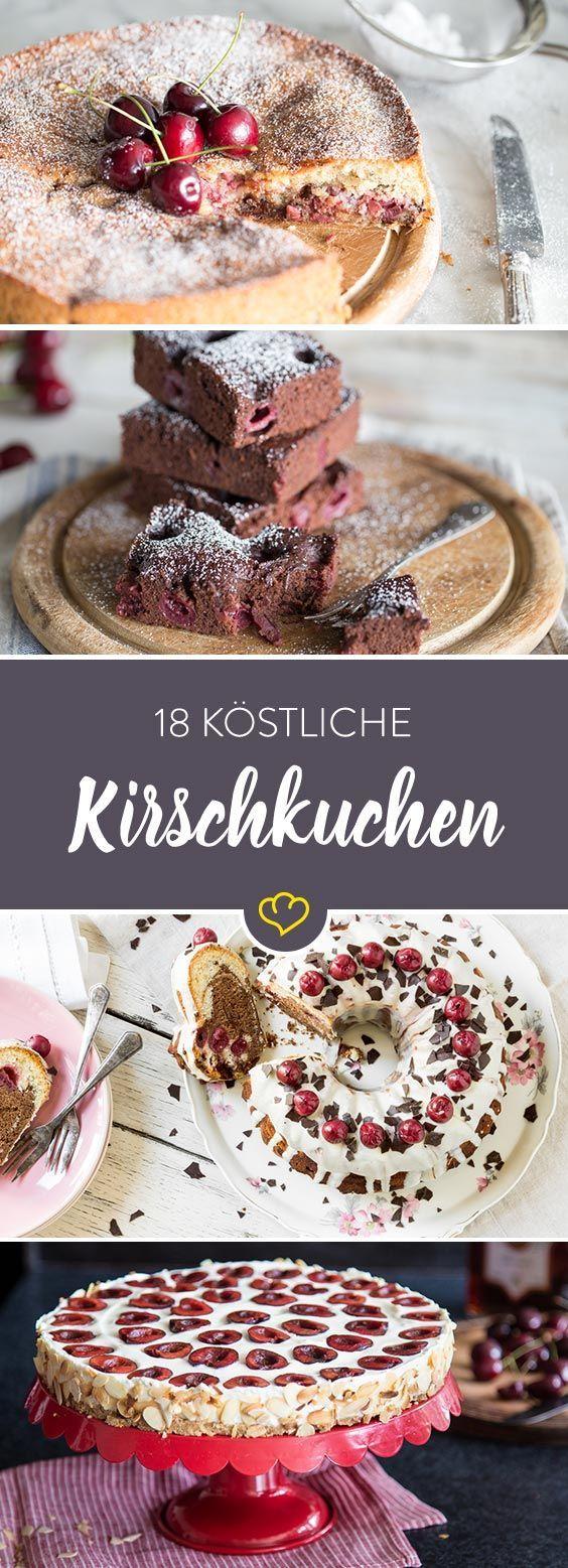 Wir sehen (Sommer)rot! 18 Rezepte für Kirschkuchen
