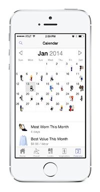 Plan Your Outfits And Record What You Wore Where Using The Closet App  Stylebook