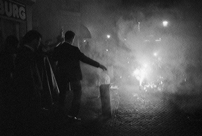 Utrecht | binnenstad - oud en nieuw | city centre - celebrate new year's Eve | célébrer le nouvel an | Feiern Sie Silvester | 01-01-1990