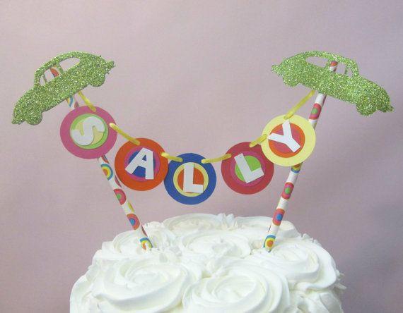 70's Birthday Decorations 70's Cake Topper Disco by TickledGlitzy
