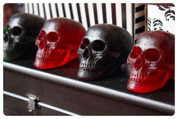 The Soaphia Skull Range by BlackFlameOdditorium on Etsy