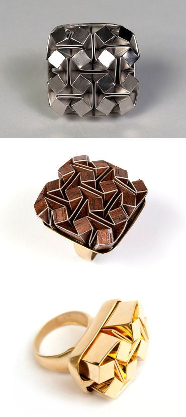 TheCarrotbox.com modern jewellery blog : obsessed with rings // feed your fingers!: Ilan Garibi
