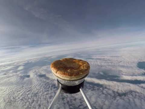 "Have You Seen This Video of a Meat Pie in ""Space""?"