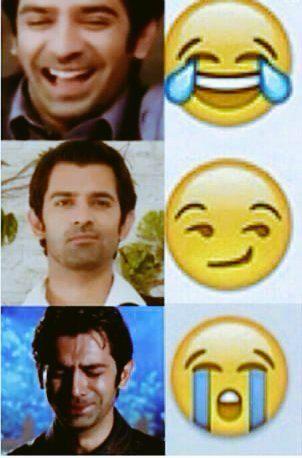 His emotions.....amazing