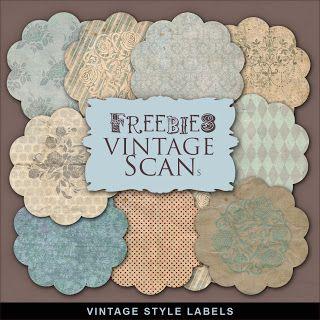 New Freebies Kit of Winter Labels - Far Far Hill