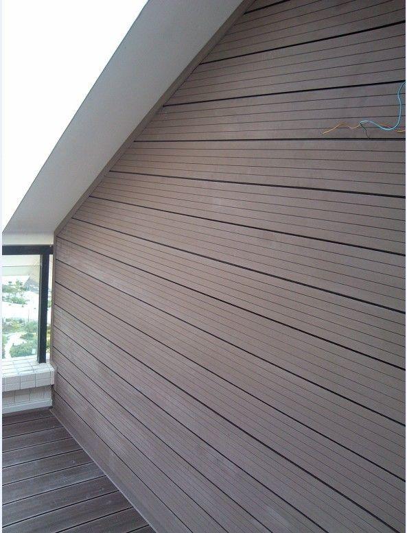 Lightweight Wall Panel,white Plastic Wood Wall Panel