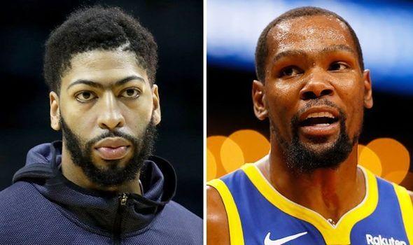 741d3f6a5965 NBA news  Anthony Davis and Kawhi Leonard to Lakers development Kevin Durant  revelation