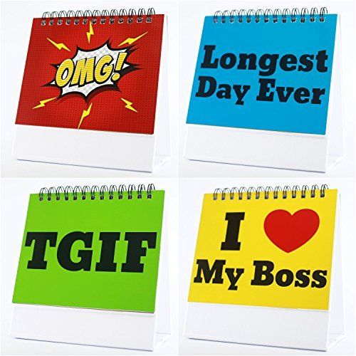 Funny Office Gifts - The Best Office Gift For Coworkers, Business Gifts, Gag Gifts & Office Desk Toys - Guaranteed Laughs - 29 Different Fun & Practical Flip-over Messages. http://www.giftideascorner.com/gifts-coworkers/