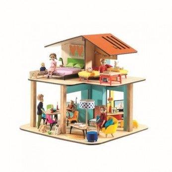 djeco: domek dla lalek MODERN