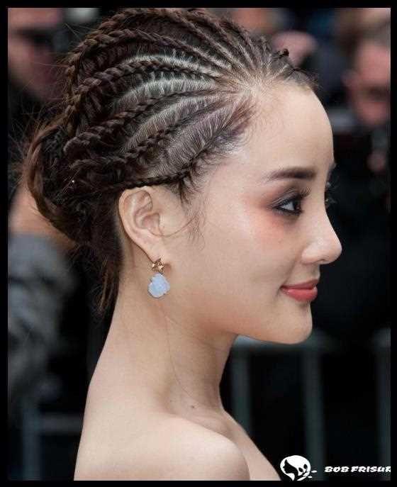 80 façons cool de bercer la déesse tresses coiffure #hair #coole #b …   – Long Bob Frisuren