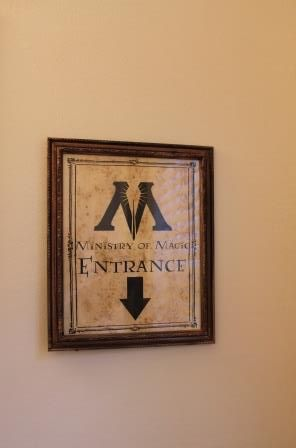 As I stated before, there was barely a part of my house that wasn't touched with some special Harry Potter decoration, the bathroom included! The theme in the bathroom was Moaning Myrtle & the ...