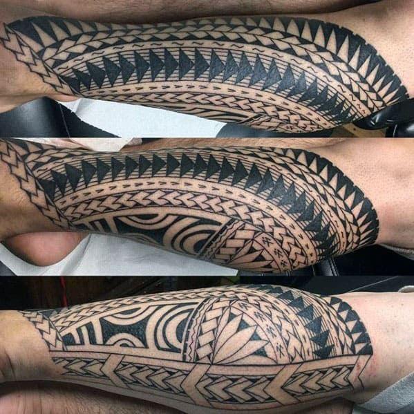 40 Polynesian Leg Tattoo Designs For Men Manly Tribal Ideas In 2020 Polynesian Leg Tattoo Polynesian Tattoo Leg Tattoos