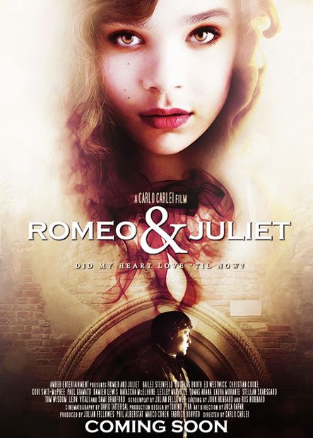 Romeo and Juliet first official trailer with Hailee Steinfeld and Douglas Booth