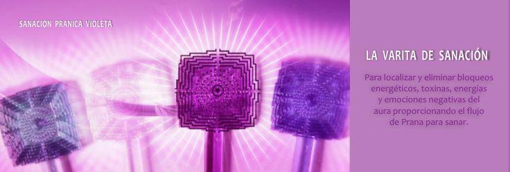 La Varita de Sanacion Pranica Violeta