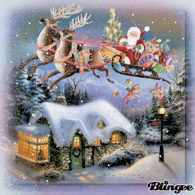 santa claus is coming santa frohe weihnachten bilder. Black Bedroom Furniture Sets. Home Design Ideas