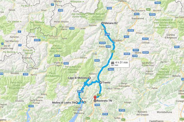Luna di Carta: Trentino in Camper