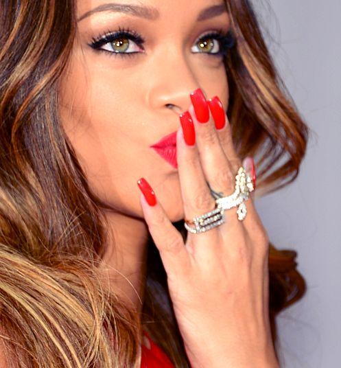 Rihanna #beauty #nails