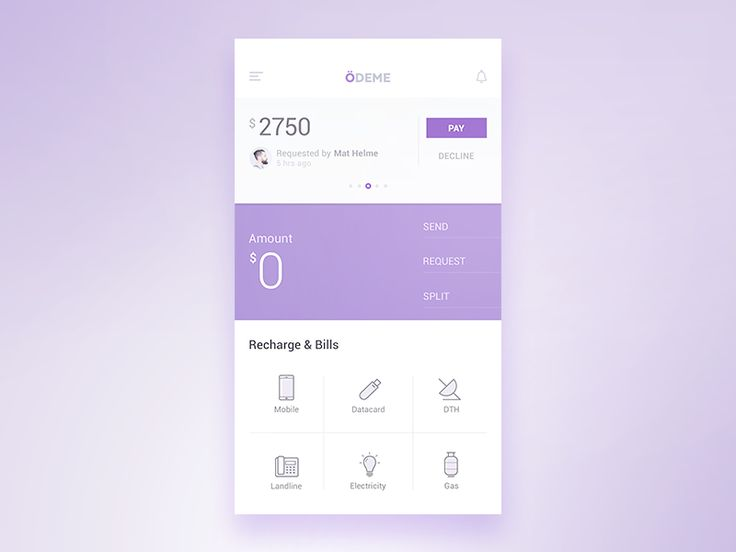 @MaterialUp : Odeme App   App by @reznikumar  https://t.co/RLyoAsjeSp https://t.co/KCw5Sviu4Q