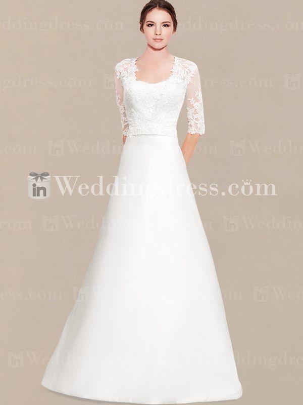 http://www.inweddingdress.com/simple-wedding-dresses-with-lace-sleeves-sv008.html