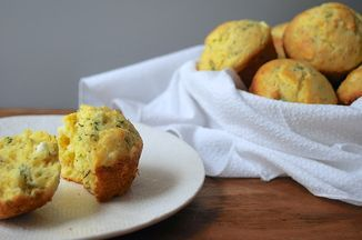 Cheesy Herbed Corn Muffins Recipe on Food52 recipe on Food52