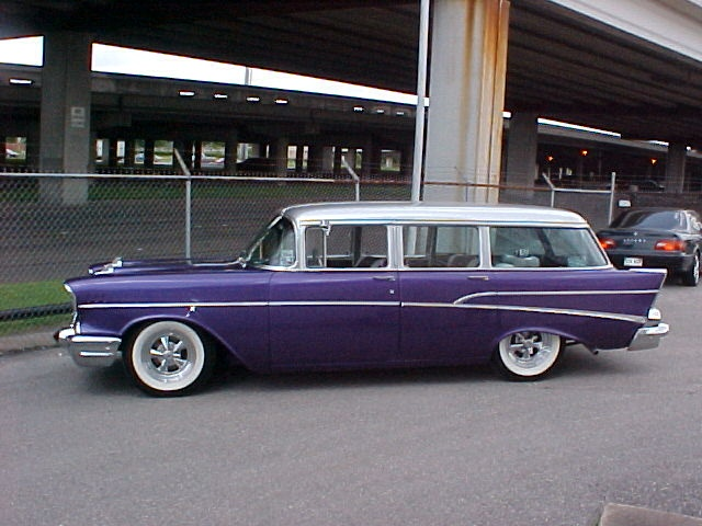57 Chevy Nomad.  Drool ...