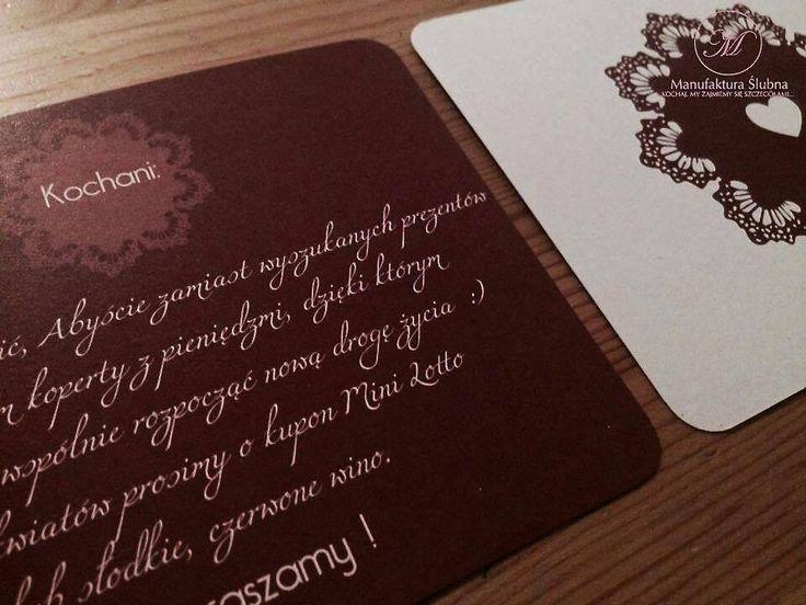 #wedding #day #paper #decorations #invitations #style #red #white #stationery #bride #groom #wesele #ślub #zaproszenia #styl #czerwień #biel #papeteria #pannamłoda #panmłody