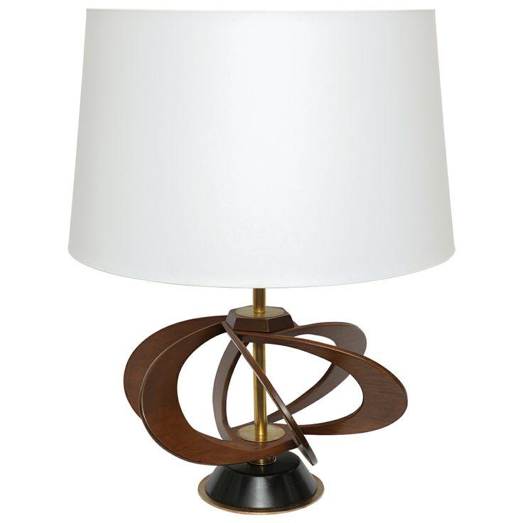 1stdibs | A 1950's Italian Futurist Table Lamp