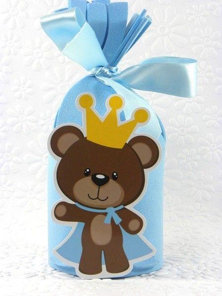Porta bombom príncipe e princesa kit 20