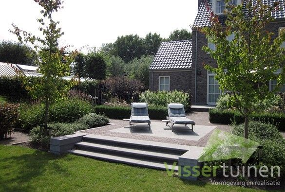 10 best landelijke tuin images on pinterest landscaping garden and garden ideas - Tuin landscaping fotos ...