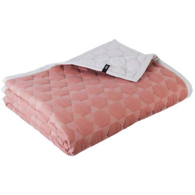 Hay Polygon Quilt pudder rosa 220x260 kr 1399