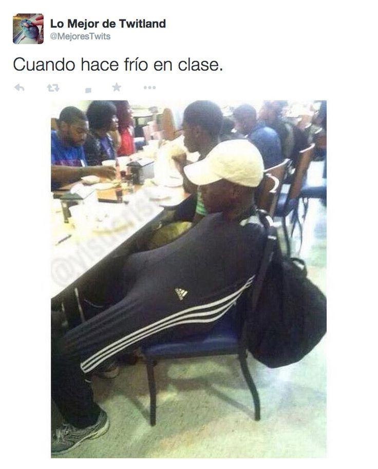 Cuando hace frío en clase. #humor #risa #graciosas #chistosas #divertidas