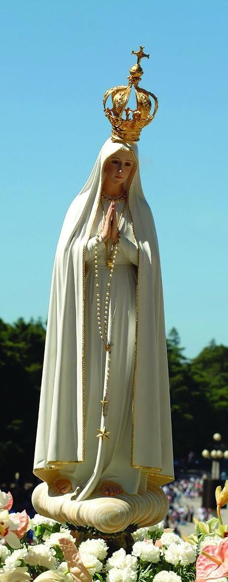 Cum Petro et sub Petro: Semper: NOSSA SENHORA DE FÁTIMA E O ESCAPULÁRIO  Nossa Senhora do Carmo, rogai por nós.