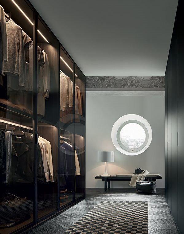 FITTED Wardrobe by Poliform design Rodolfo Dordoni