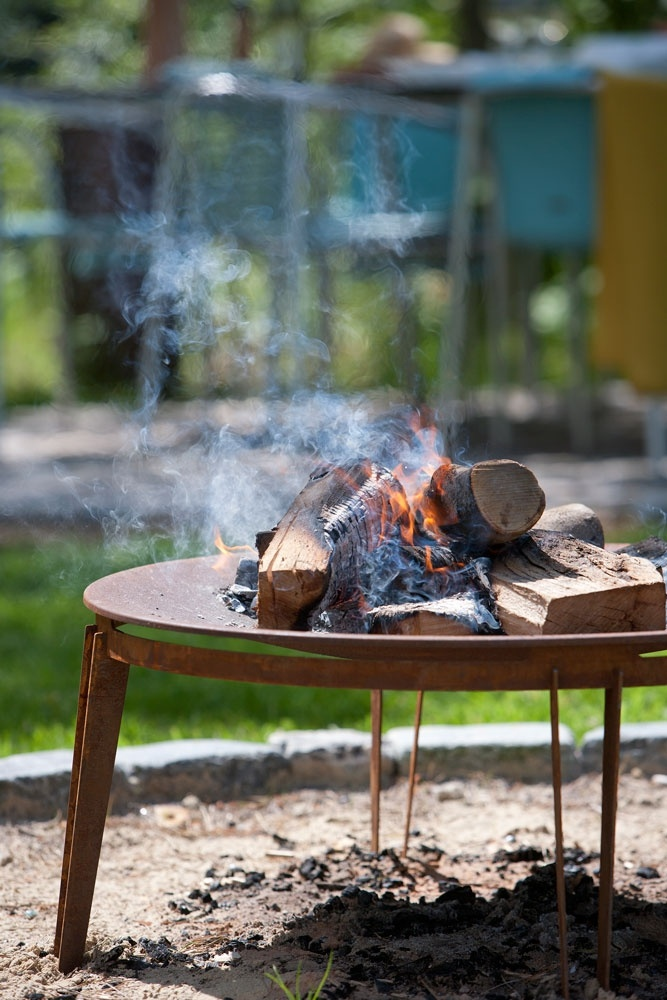Ignis fireplace #skagerak #outdoor #outliving #backyard