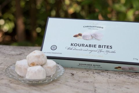 Kourabie Bites with Almond and Chios Mastiha - available at www.homerst.com.au