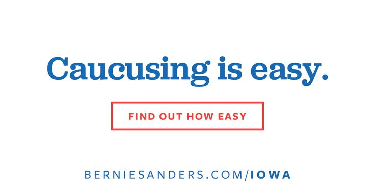 Everything you need to know about caucusing for bernie in